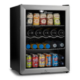 Subcold Super 65 litre beer drinks fridge silver
