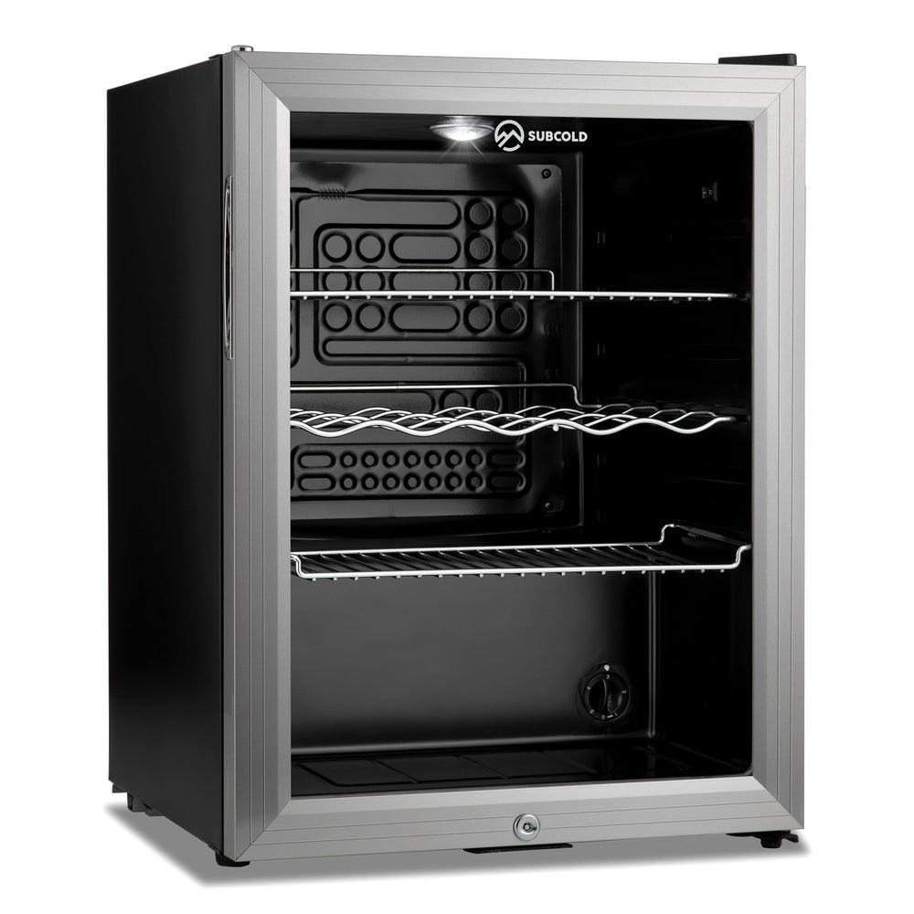 Subcold Super 65 LED Silver - Beer Fridge