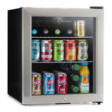Subcold Super 50 litre glass door beer drinks stainless steel mini fridge