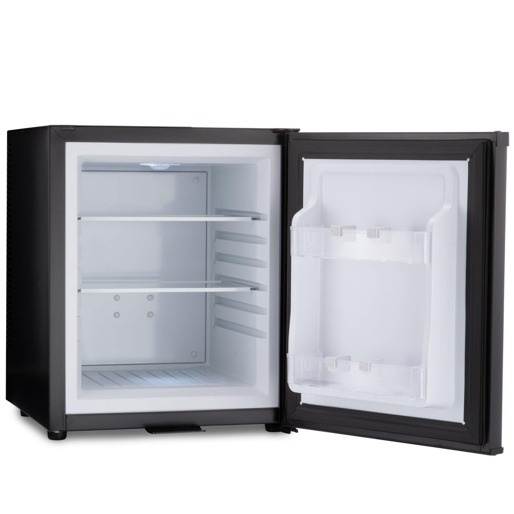 Barcool Bar 30 litre mini bar fridge black interior