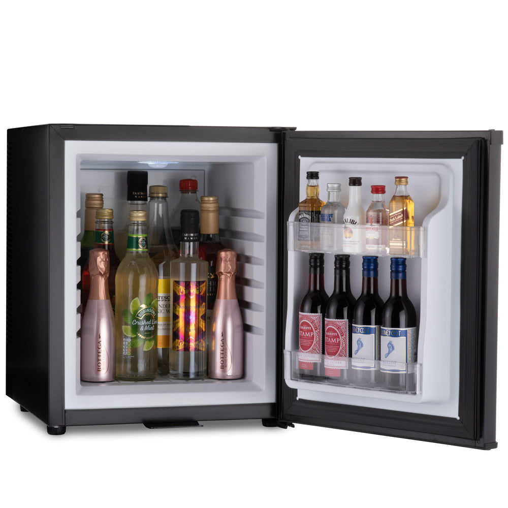 Barcool Bar 30 litre mini bar fridge black internal storage capacity