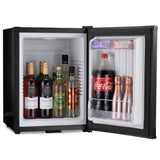 Mini bar fridge 40 litre beverages inside