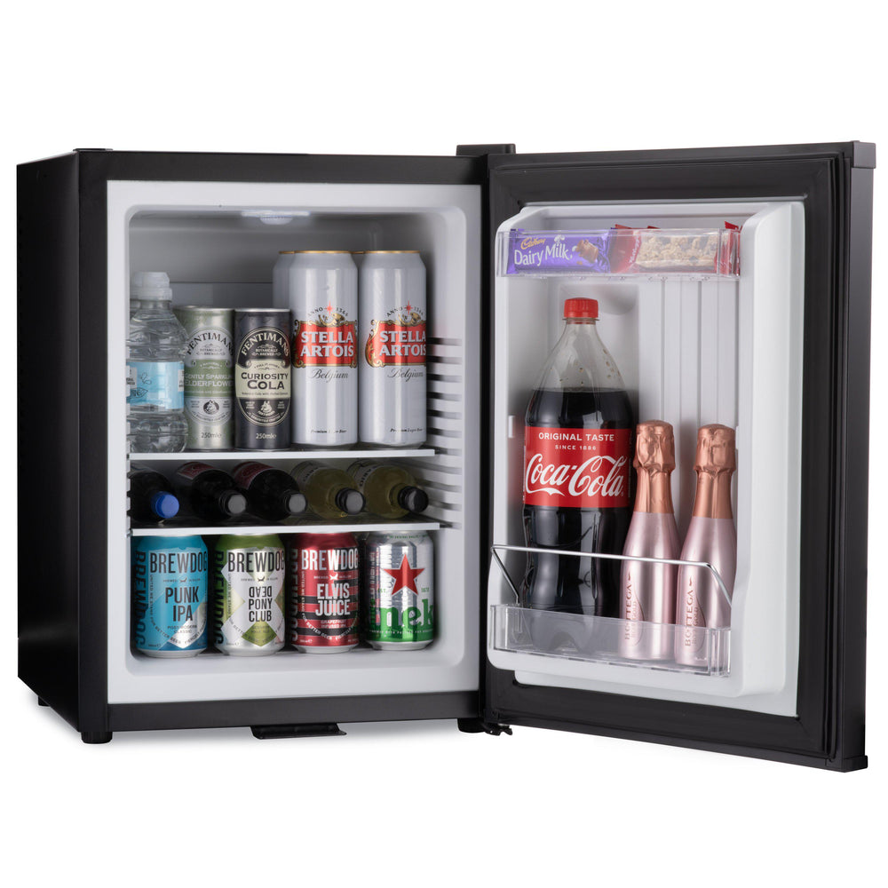 Mini bar fridge 40 litre internal storage capacity