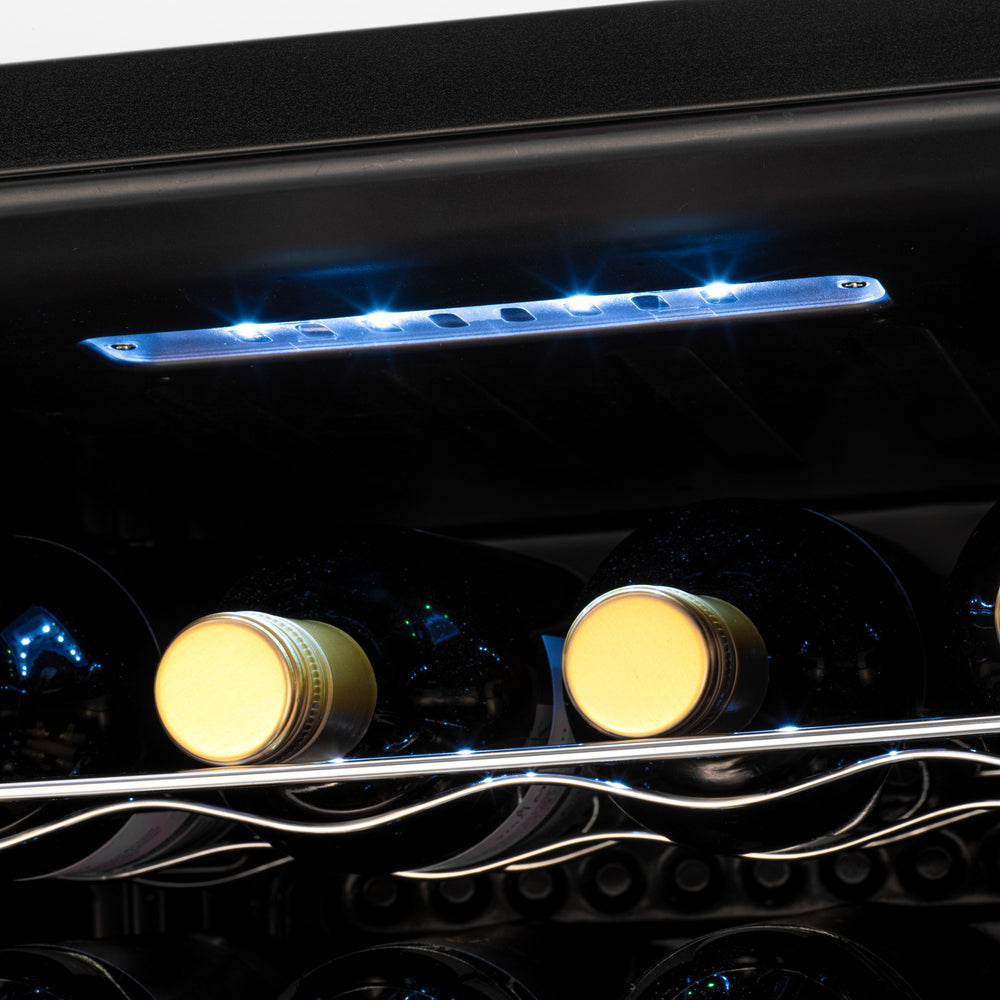 Subcold Viva 16 bottles wine cooler fridge (48 litre) internal LED light