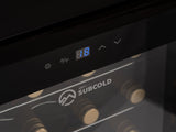 Subcold Viva 20 bottles wine cooler fridge (57 litre) digital thermostat