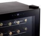 Subcold Viva 24 bottles wine cooler fridge (70 litre) touch display thermostat