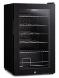 Subcold Viva 24 bottles wine cooler fridge (70 litre) interior