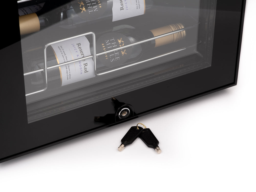Subcold Viva 28 bottles wine cooler fridge (82 litre) lock and keys