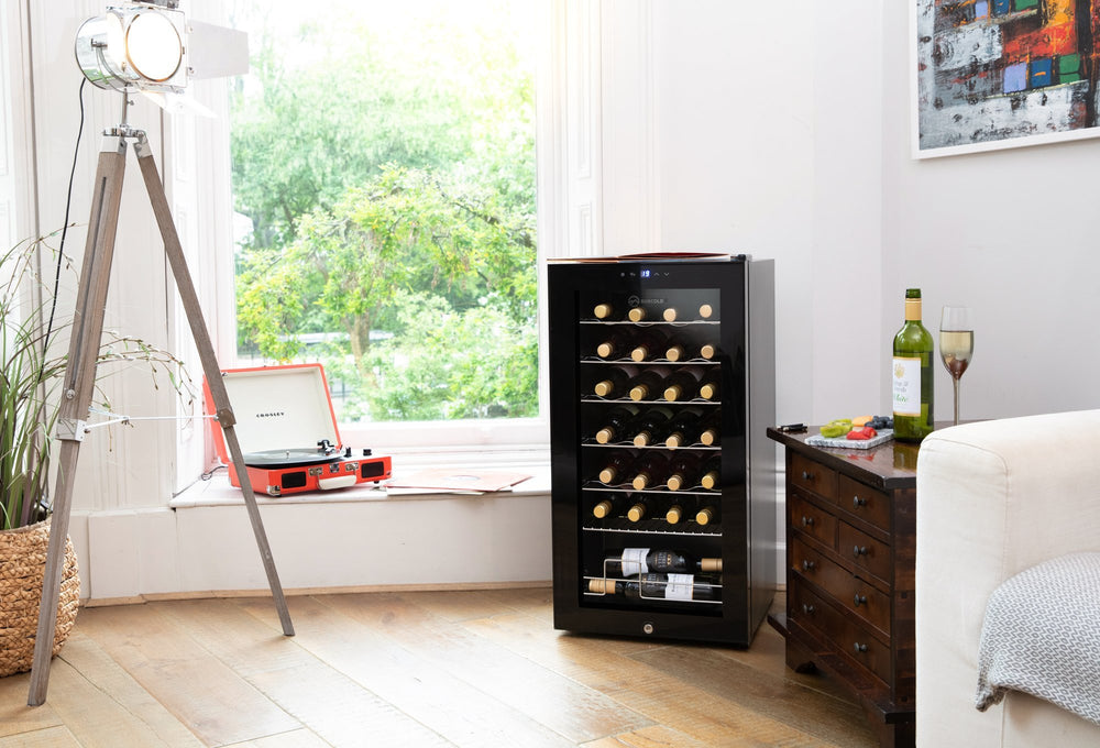 Subcold Viva 28 bottles wine cooler under counter fridge (82 litre)