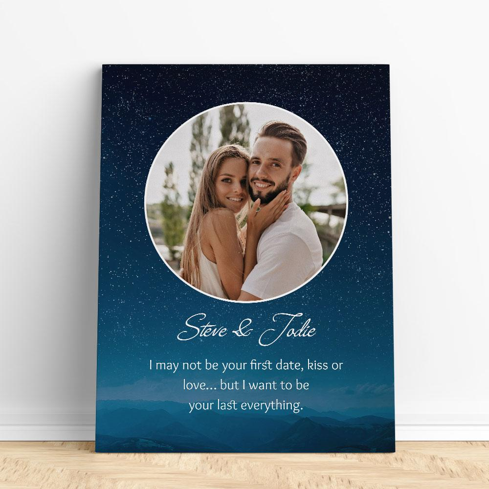 Customized Romantic Canvas - Your first Canvas Wall Art 2 teelaunch