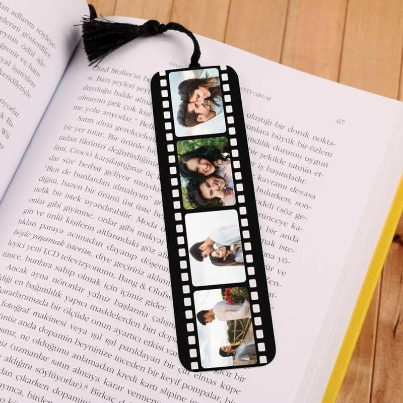 Personalized Filmstrip Photos Bookmark Custom Fairy