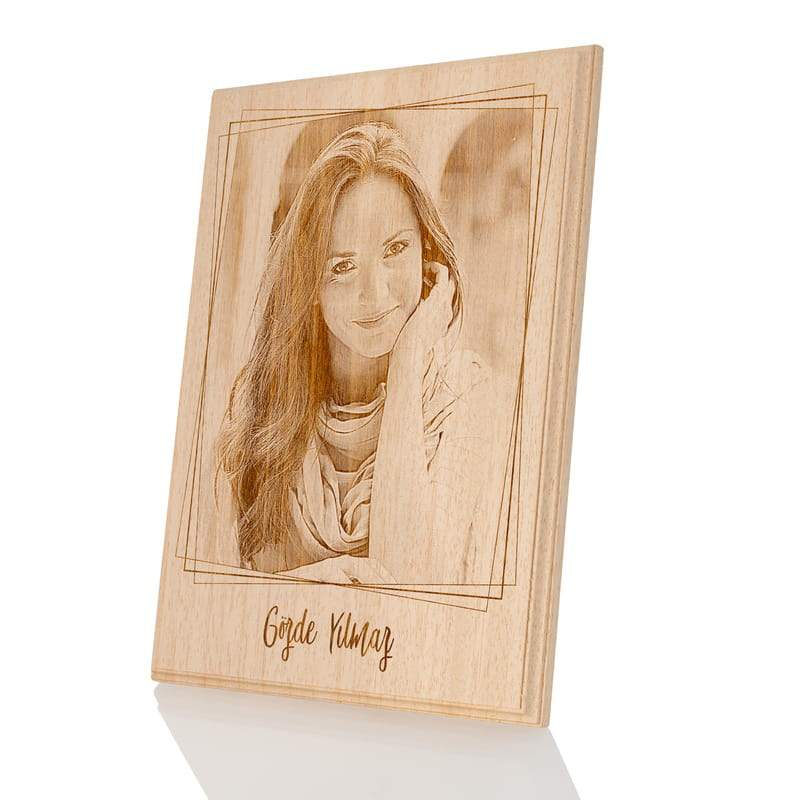 Personalized Wooden Photo