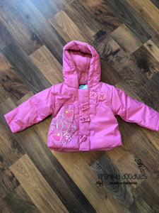 Girls Padded Fleece Lined Jacket