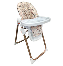 Load image into Gallery viewer, PRE-ORDER NOW Dani Dyer Blush Leopard Premium Highchair