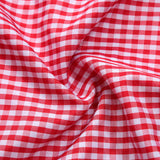 Women's Beer Festival Dress Suit Plaid Ruched Fancy Dress for Oktoberfest