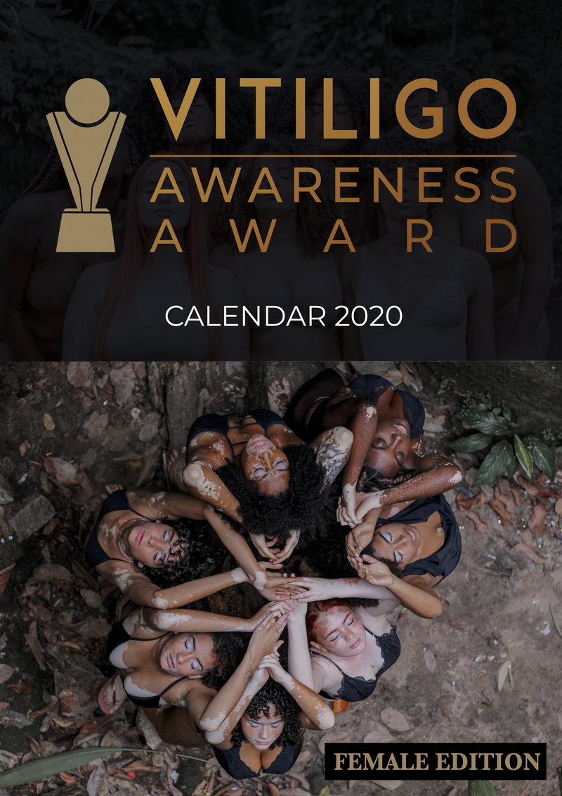 [SOLD OUT] Vitiligo Awareness Calendar Collection