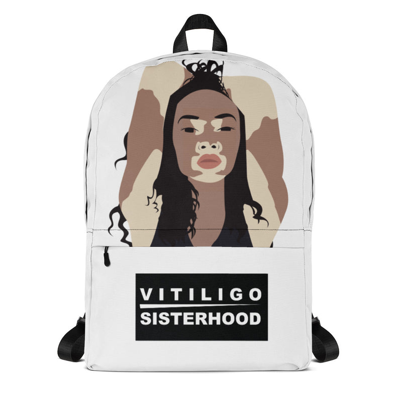 Vitiligo Sisterhood Backpack
