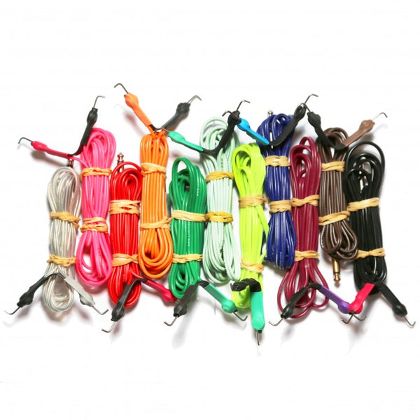 Lucky Supply Silicone Springless Clip Cords
