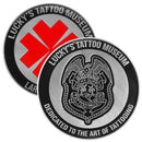 Lucky's Tattoo Museum 20 Year Anniversary Commemorative Coin