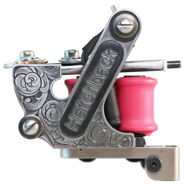 Hatchback Irons Liner Tattoo Machine (One-Off)