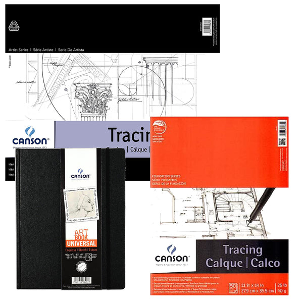 Sketchbooks & Tracing Pads