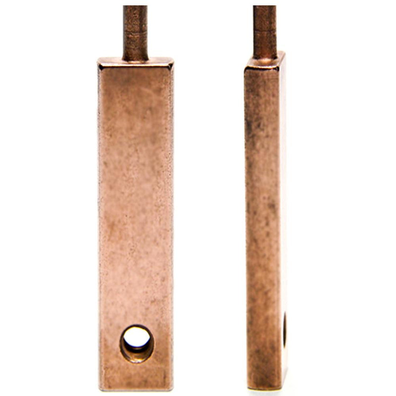 "Armature Bar - Shader - 1.925"" OL- Copper Plated"