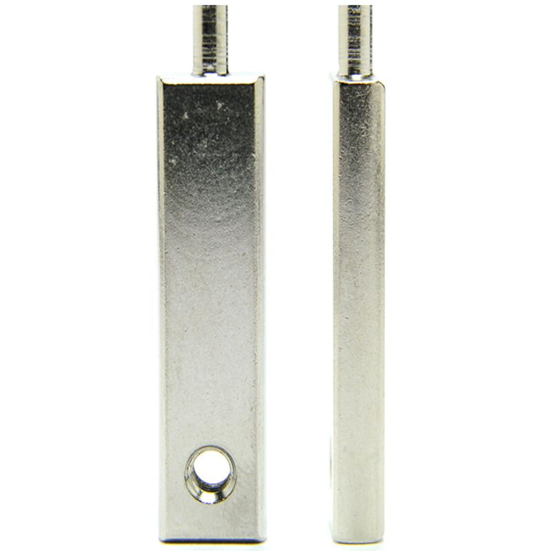 "Armature Bar - Shader - 2.1"" OL- Nickel Plated"
