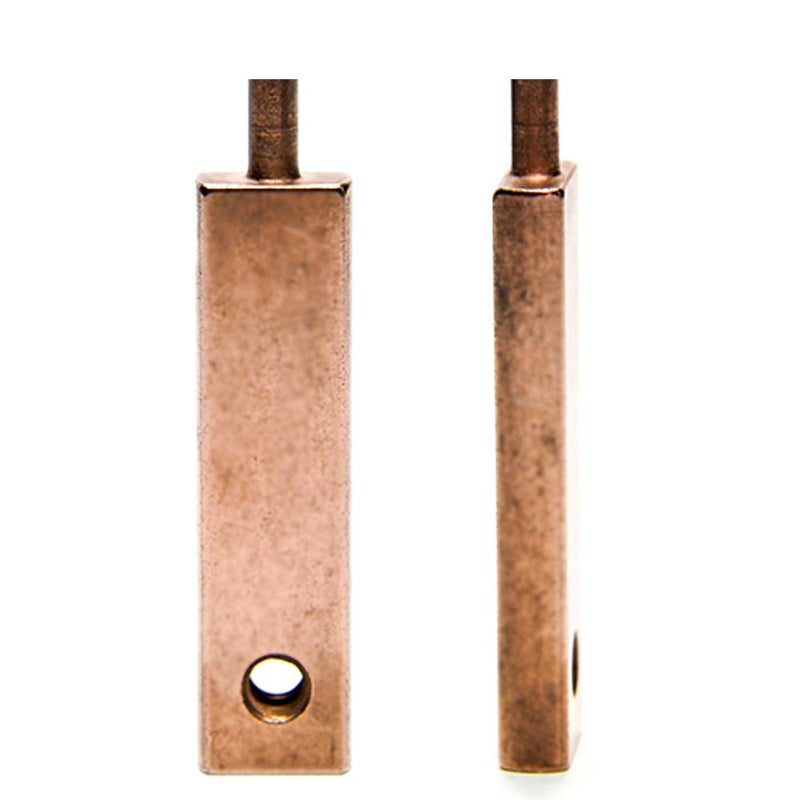 "Armature Bar - Shader - 1.875"" OL- Copper Plated"