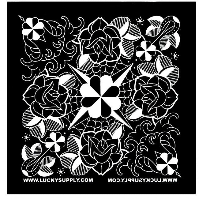 Lucky's Bandanas Artwork By Jason Minauro