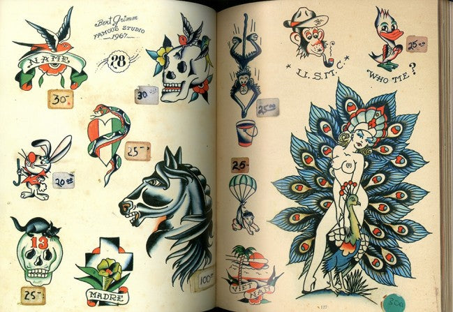 Legends Tattoo Flash Book (2018 Reprint)