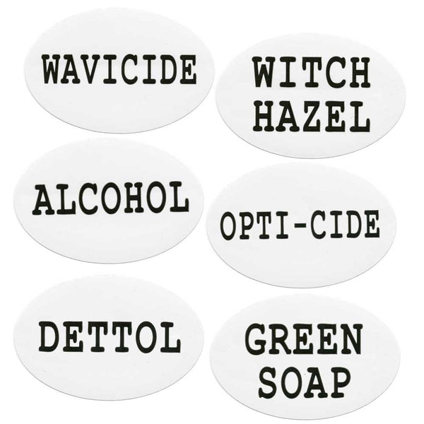 Department of Health Stickers, 6 Pack