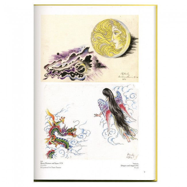 Drawings For Tattoos Book By Don Ed Hardy Vol 2