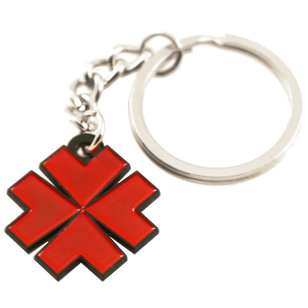 Lucky Supply Red Clover Key Chain