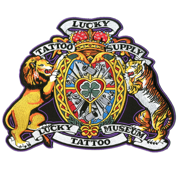 Jumbo Lion and Tiger Patch
