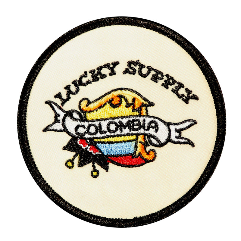 "Lucky Supply Colombia 3"" Patch"