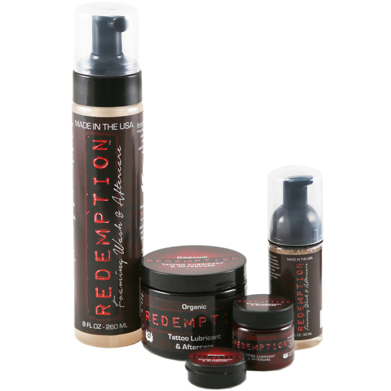 Redemption Organic Tattoo Lubricant & Aftercare