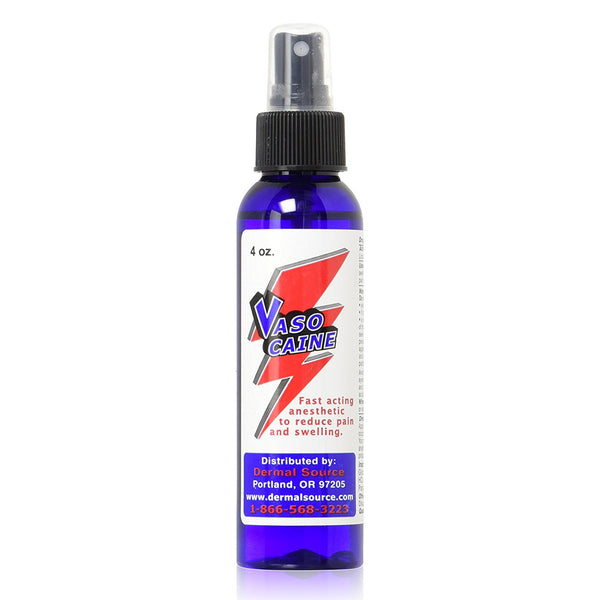 Vasocaine 4 oz. Numbing Anesthetic Spray