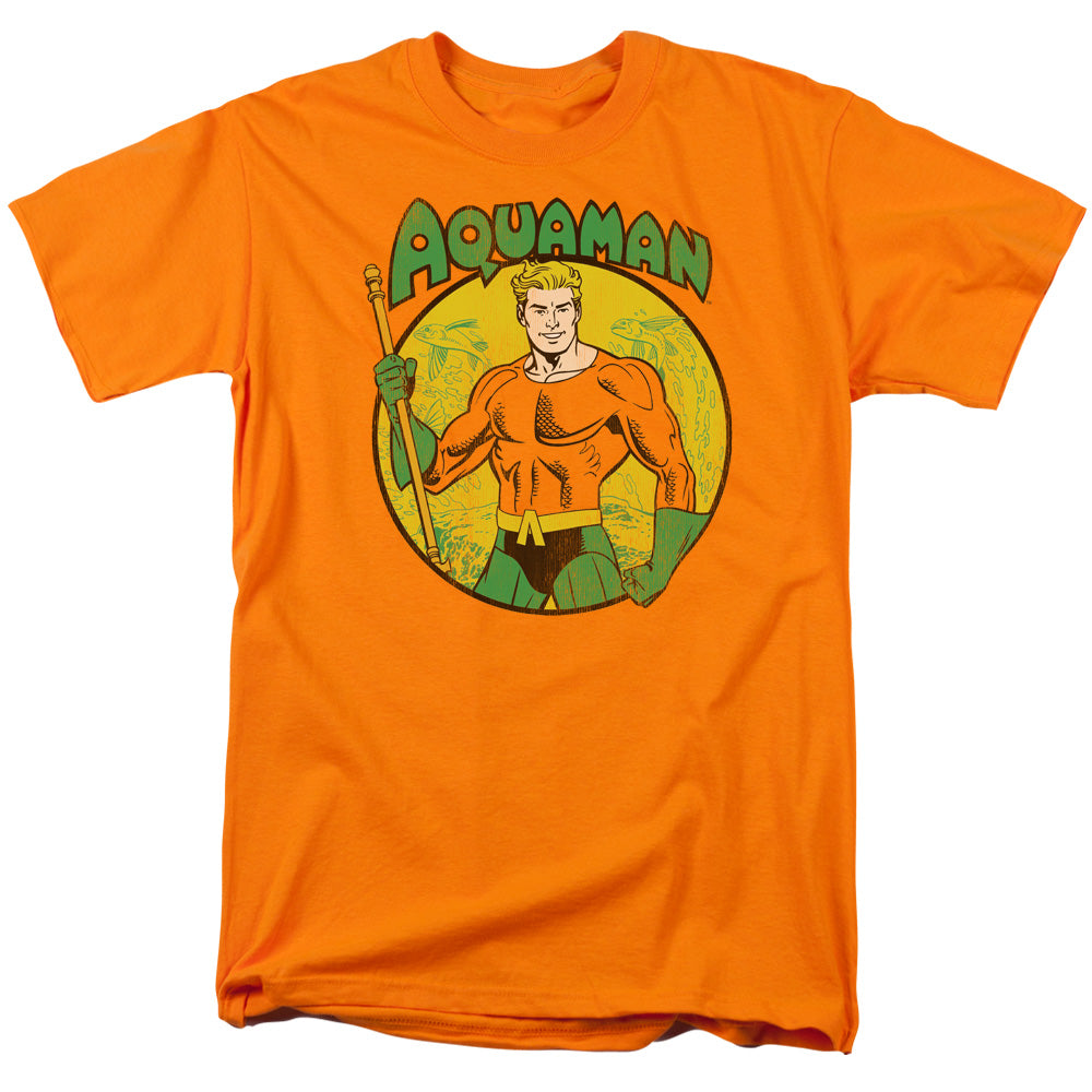 Dc - Aquaman Short Sleeve Adult 18/1