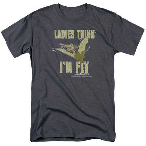 Land Before Time - I'm Fly Short Sleeve Adult 18/1