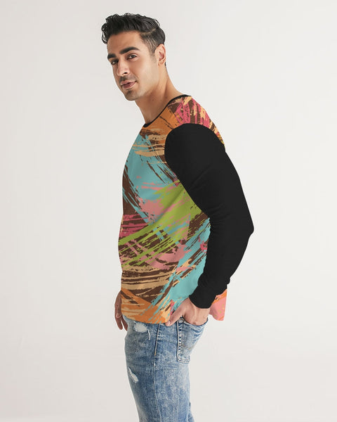 FIGARO Urban Brush Men's Long Sleeve Tee