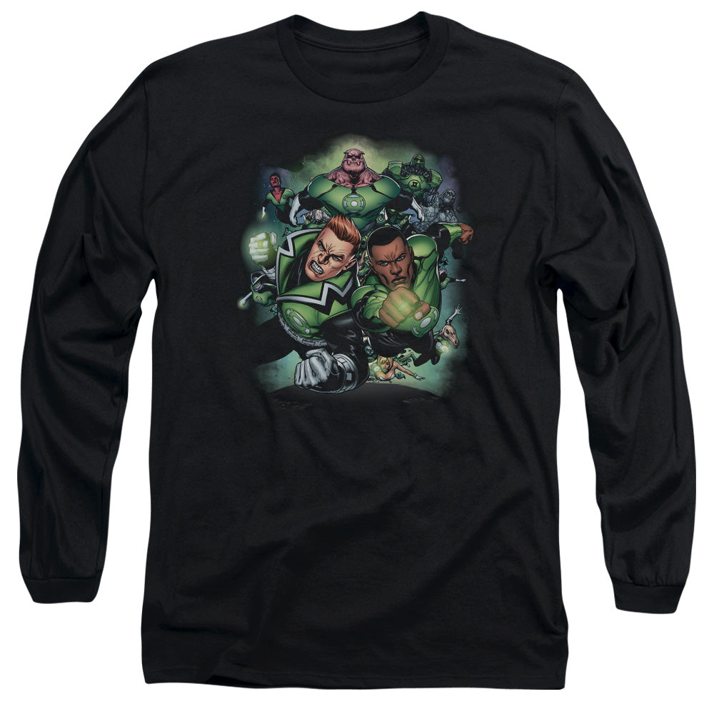 Green Lantern - Corps #1 Long Sleeve Adult 18/1