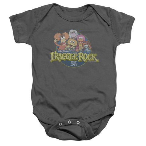 Fraggle Rock - Circle Logo Infant Snapsuit