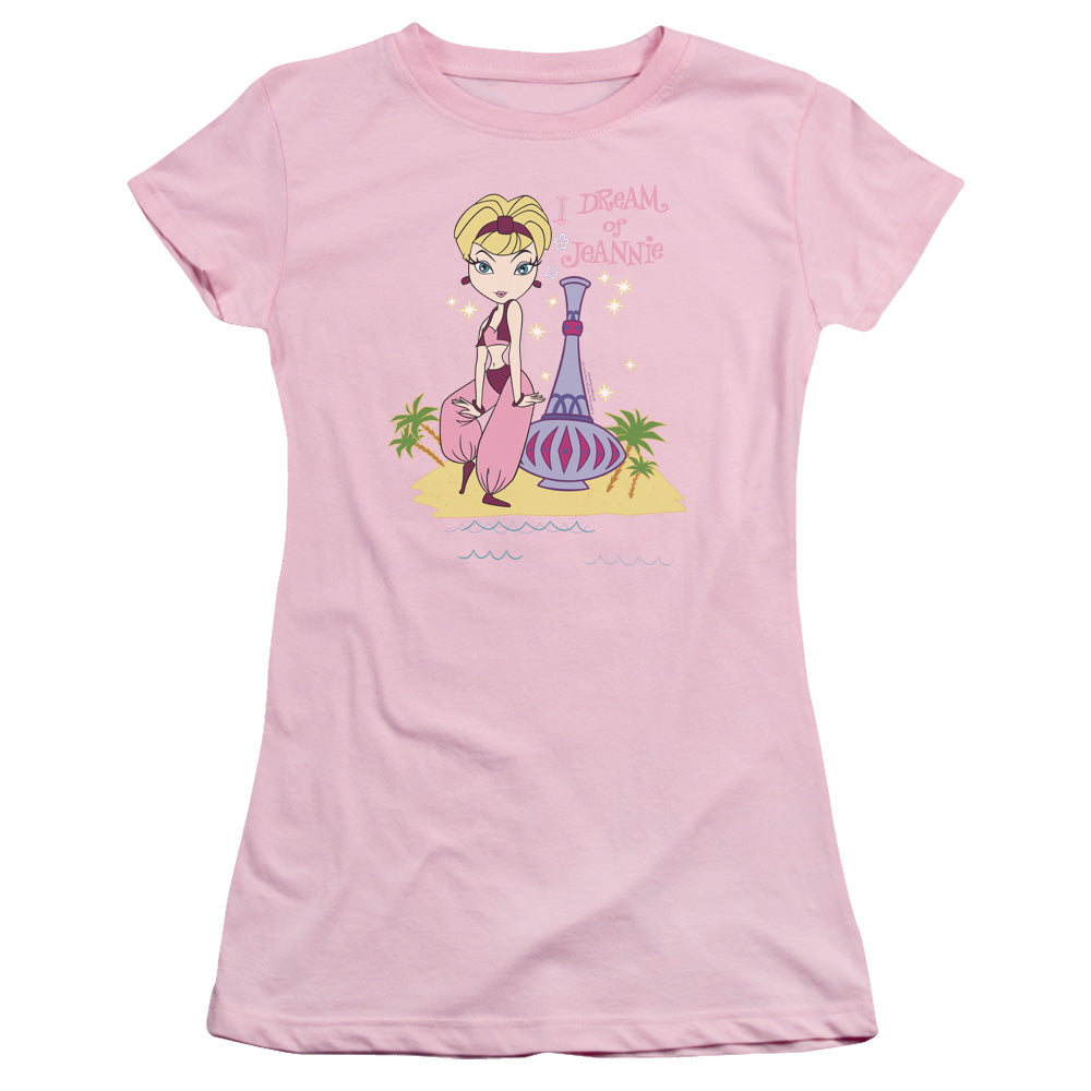 I Dream Of Jeannie - Island Dance Short Sleeve Junior Sheer