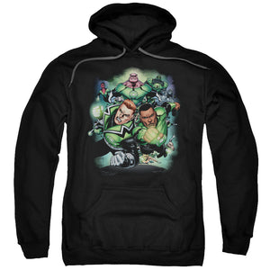 Green Lantern - Corps #1 Adult Pull Over Hoodie