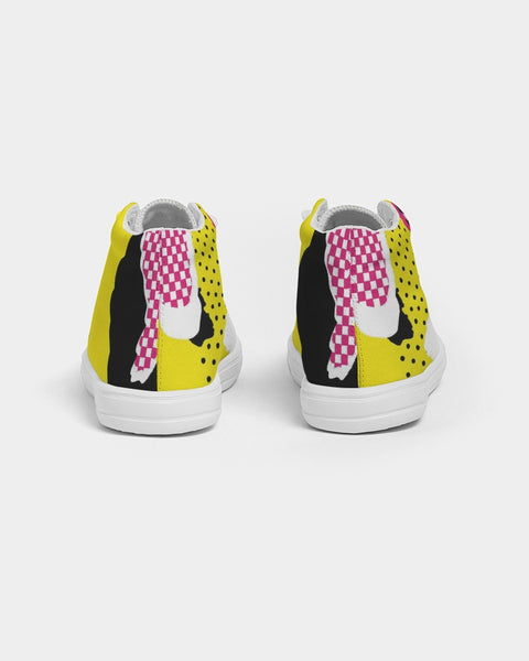 FIGARO KIDS Retro Sneak Kids Hightop Canvas Shoe