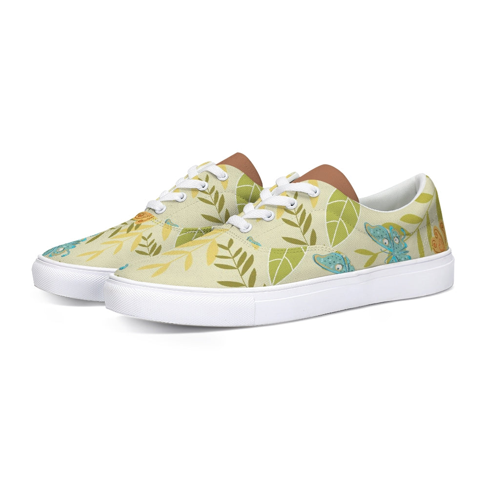 FIGARO Tropic Lace Up Canvas Shoe