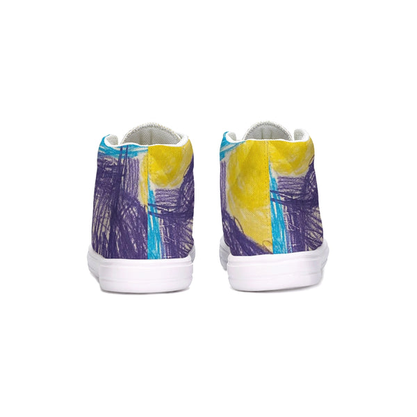 Milani Collection 2 Kids Hightop Canvas Shoe