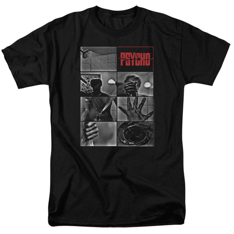Psycho - Shower Scene Short Sleeve Adult 18/1