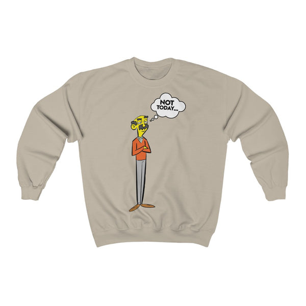 Prof Sherman Unisex Heavy Blend Crewneck Sweatshirt