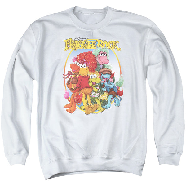 Fraggle Rock - Group Hug Adult Crewneck Sweatshirt